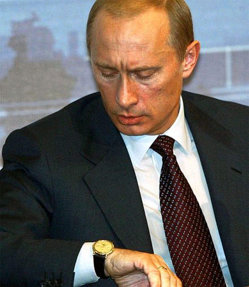 Vladimir Poutine Patek Philippe