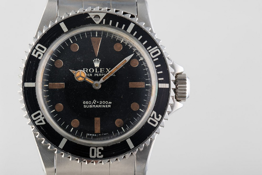 Rolex Submariner de James Bond 1972